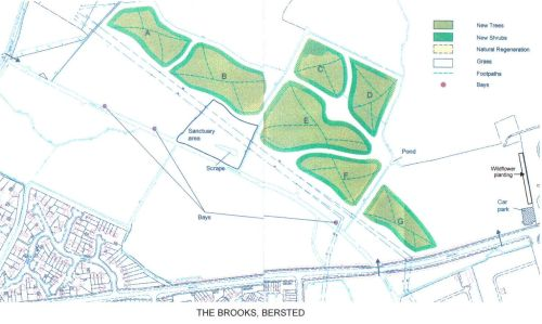 A plan of Bersted Brooks